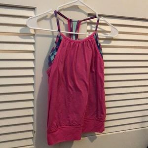 Ivivva tank with built in sports bra
